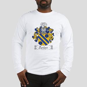 Barbaro Family Crest Long Sleeve T-Shirt