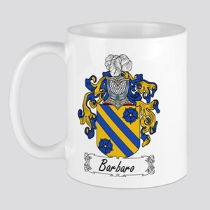 Barbaro Family Crest Mug