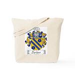 Barbaro Family Crest Tote Bag