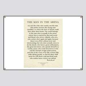 The Man In The Arena Quote by Theodore Roosevelt B