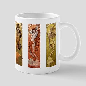 Mermaids Nouveau Mug