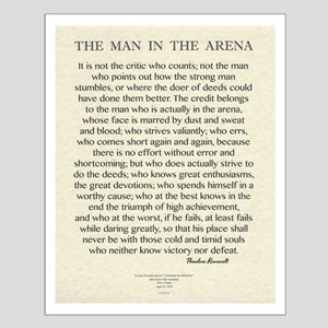 The Man In The Arena Quote by Theodore Roosevelt P