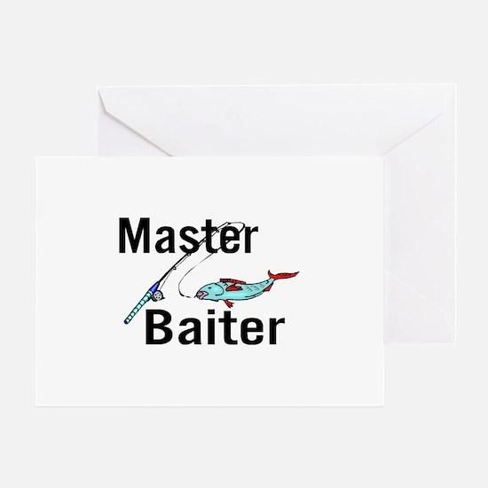 Master Baiter Greeting Card
