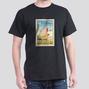 South Africa Surfing Dark T-Shirt
