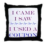 CouponThrow Pillow