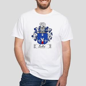 Bellini Family Crest White T-Shirt