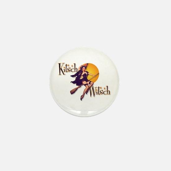 The Kitsch Witsch (broom) Mini Button