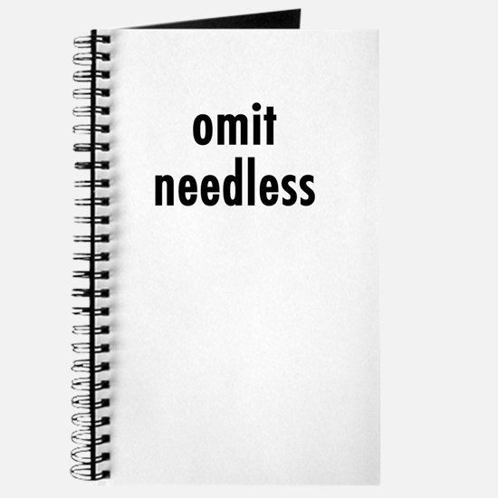 Omit needless Journal
