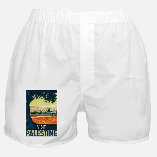 Palestine Holy Land Boxer Shorts
