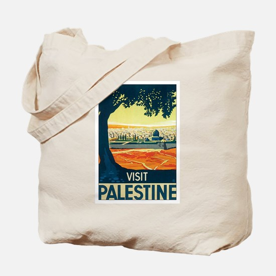 Palestine Holy Land Tote Bag