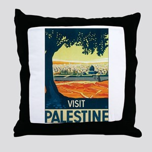 Palestine Holy Land Throw Pillow