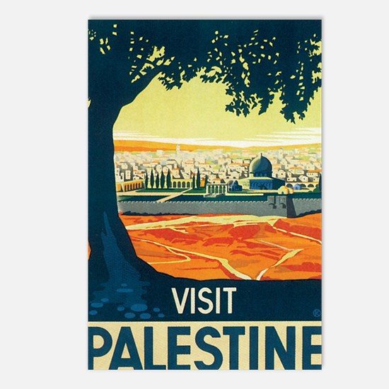Palestine Holy Land Postcards (Package of 8)