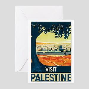 Palestine Holy Land Greeting Card