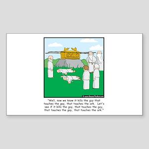 The Ark Rectangle Sticker
