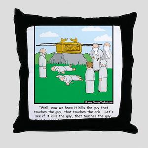 The Ark Throw Pillow