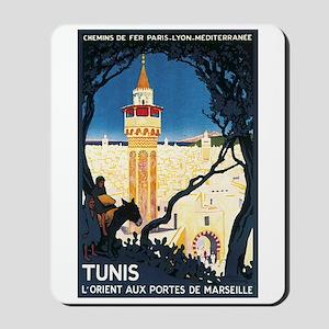 Tunis Tunisia Mousepad