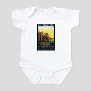Morocco Maroc Infant Bodysuit