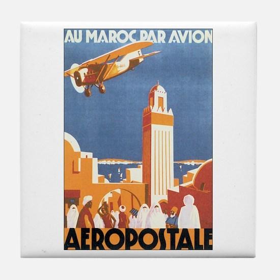 Morocco Maroc Tile Coaster
