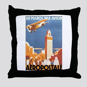 Morocco Maroc Throw Pillow