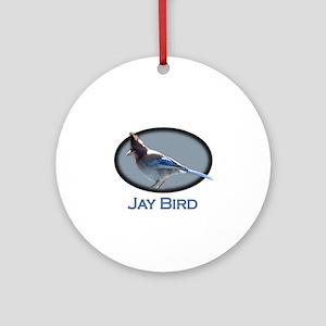 Jay Bird Keepsake (Round)