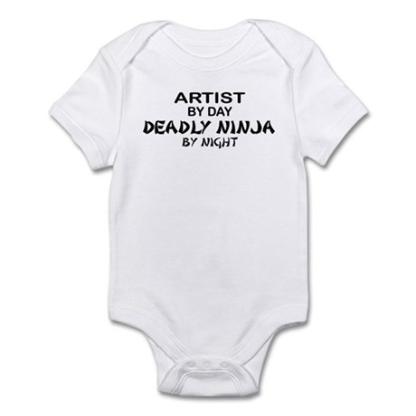 Artist Deadly Ninja by Night Infant Bodysuit