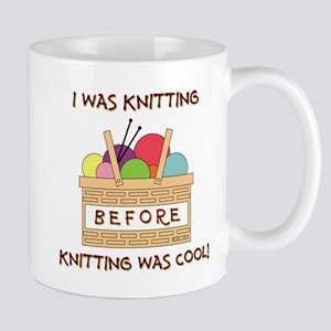 I WAS KNITTING... Mugs