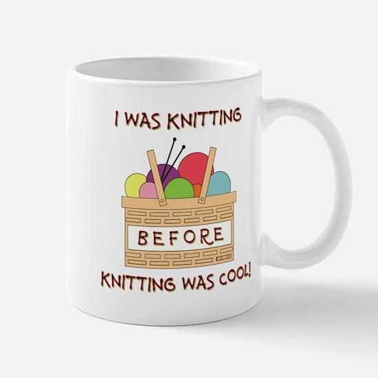 I WAS KNITTING... Mugs