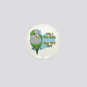Can You Fly Quaker Parrot Mini Button