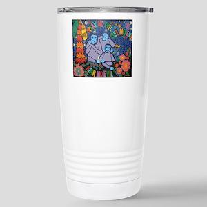 No Evil Stainless Steel Travel Mug