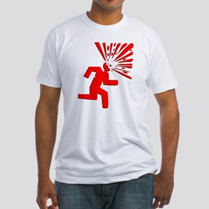 Headshot Fitted T-Shirt