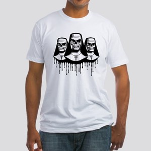 Evil Nuns Fitted T-Shirt