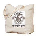 Vintage Seychelles Tote Bag