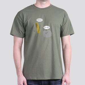 U Rock; U Rule Dark T-Shirt