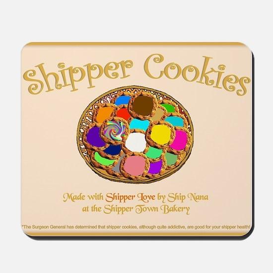 Shipper Cookies Mousepad