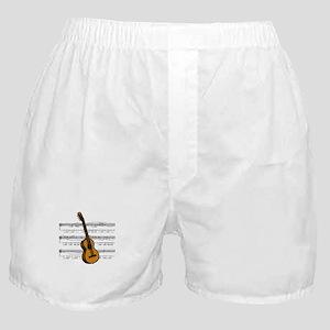 Music (Guitar) Boxer Shorts