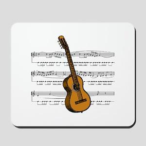 Music (Guitar) Mousepad