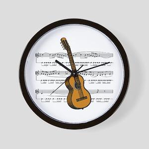 Music (Guitar) Wall Clock