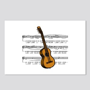 Music (Guitar) Postcards (Package of 8)