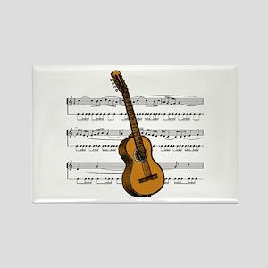 Music (Guitar) Rectangle Magnet