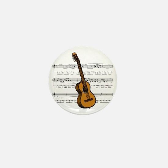 Music (Guitar) Mini Button