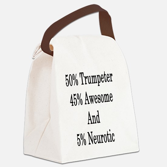 Cute Trumpeter Canvas Lunch Bag