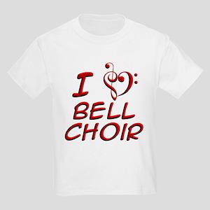 I Love Bell Choir Kids Light T-Shirt