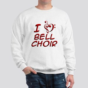 I Love Bell Choir Sweatshirt