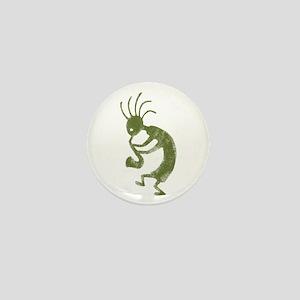 Faded Koko Mini Button