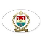 DORE Family Crest Oval Sticker