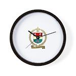 DORE Family Crest Wall Clock