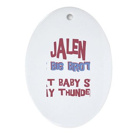 Jalen - Stole My Thunder Oval Ornament