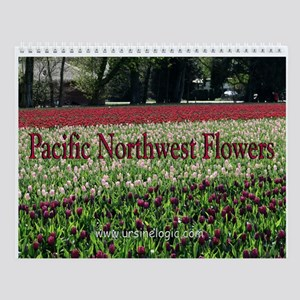Pacific Northwest Flowers Wall Calendar