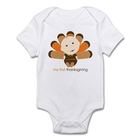 First Thanksgiving Baby Infant Bodysuit