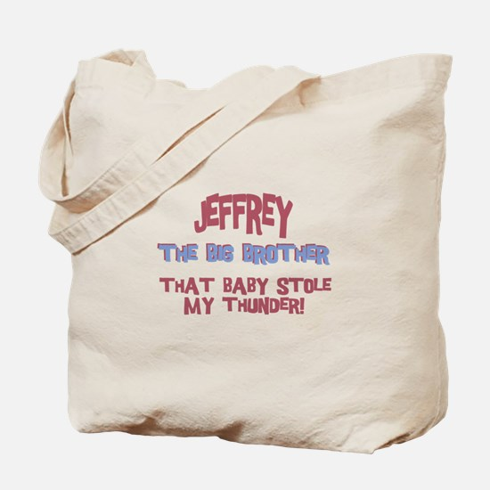 Jeffrey - Stole My Thunder Tote Bag